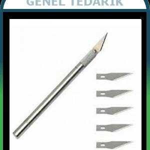 Südor, BS-56 Kretuar Maket Bıçağı Seti - 5'li Yedekli '