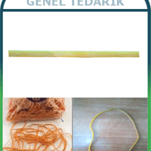 Sanse, Ambalaj Lastiği Kauçuk - 18cmx3mm (1kg) '