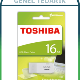 TOSHIBA, 16 GB Flash Bellek