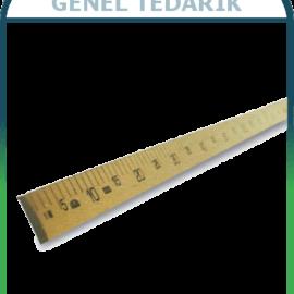 Muşi, Tahta Metre 100cm'lik -Manifaturacı Metresi *