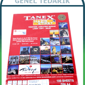 Tanex Lazer Etiket A4 (100yp=100adet) *