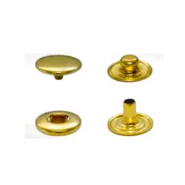 Çıtçıt 54 Sistem, 15 mm Kafa - Pirinç Altın Sarı (720'li) ''