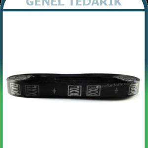 XXL Siyah Saten Beden Etiketi - 1cm ~