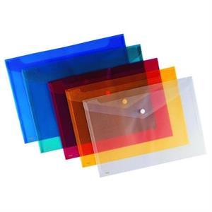 ABKA Çıtçıtlı Zarf Dosya Mavi (Adet) ''