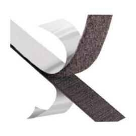 Cts, 2 Cm Arkası Yapışkanlı Cırt (Siyah-Beyaz) -25mt Takım ''