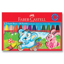Faber-Castell Pastel Boya - 12 Renk ''