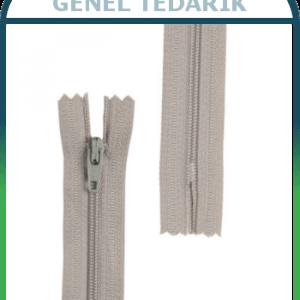 Pantolon Fermuarı 18cm 100 Adet/Paket Beyaz *