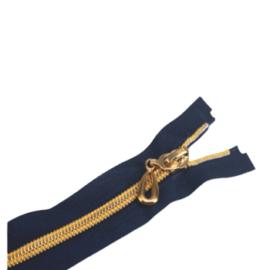 Ferace Fermuarı Altın Diş 100cm - Adet ''