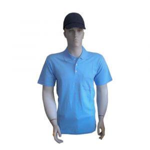 İş kıyafeti, pike (Lakost) kısa kollu polo yaka T-shirt *