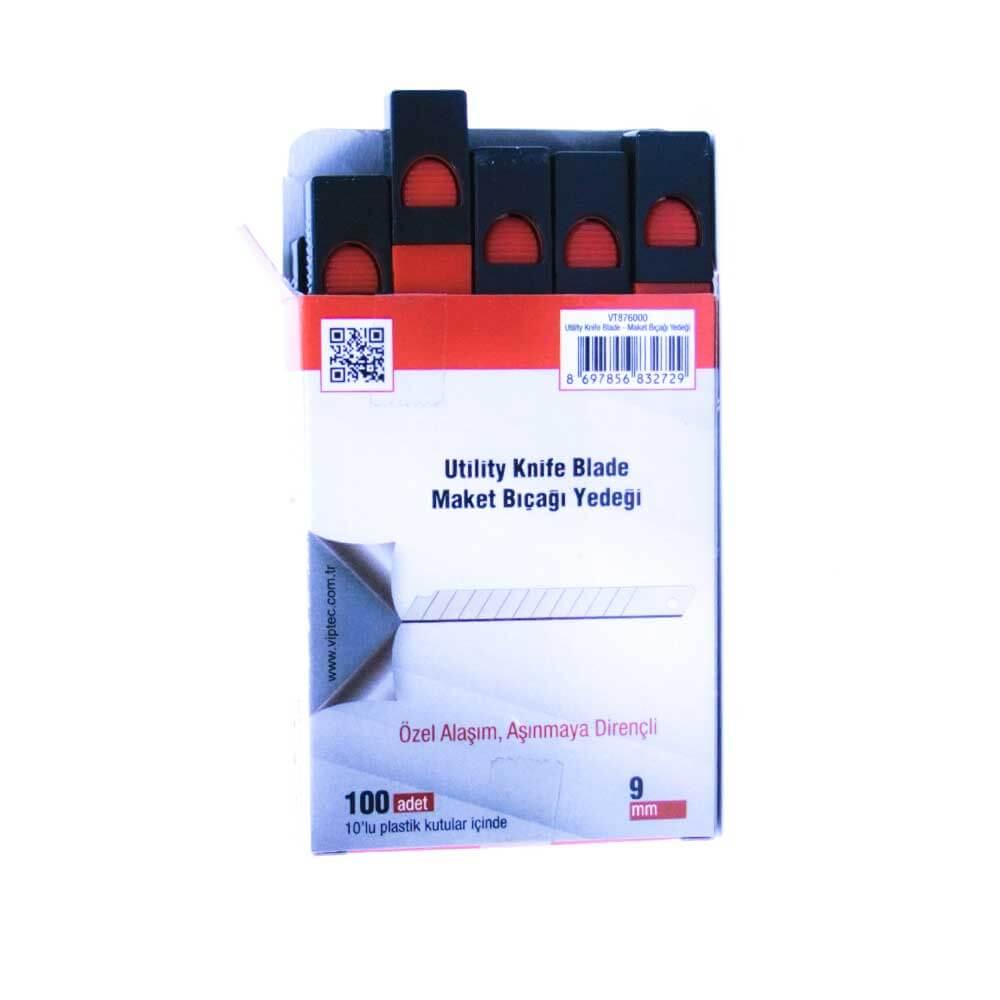 Vip-Tec Profesyonel Maket Bıçağı Yedeği Dar VT876000 ''