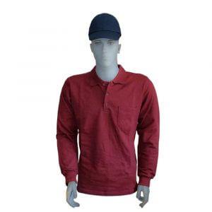 İş kıyafeti, ikiiplik uzunkollu polo yaka sweat *