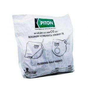Piton A1000V FFP1 NR Ventilli Konik Toz Maskesi (Adet) *