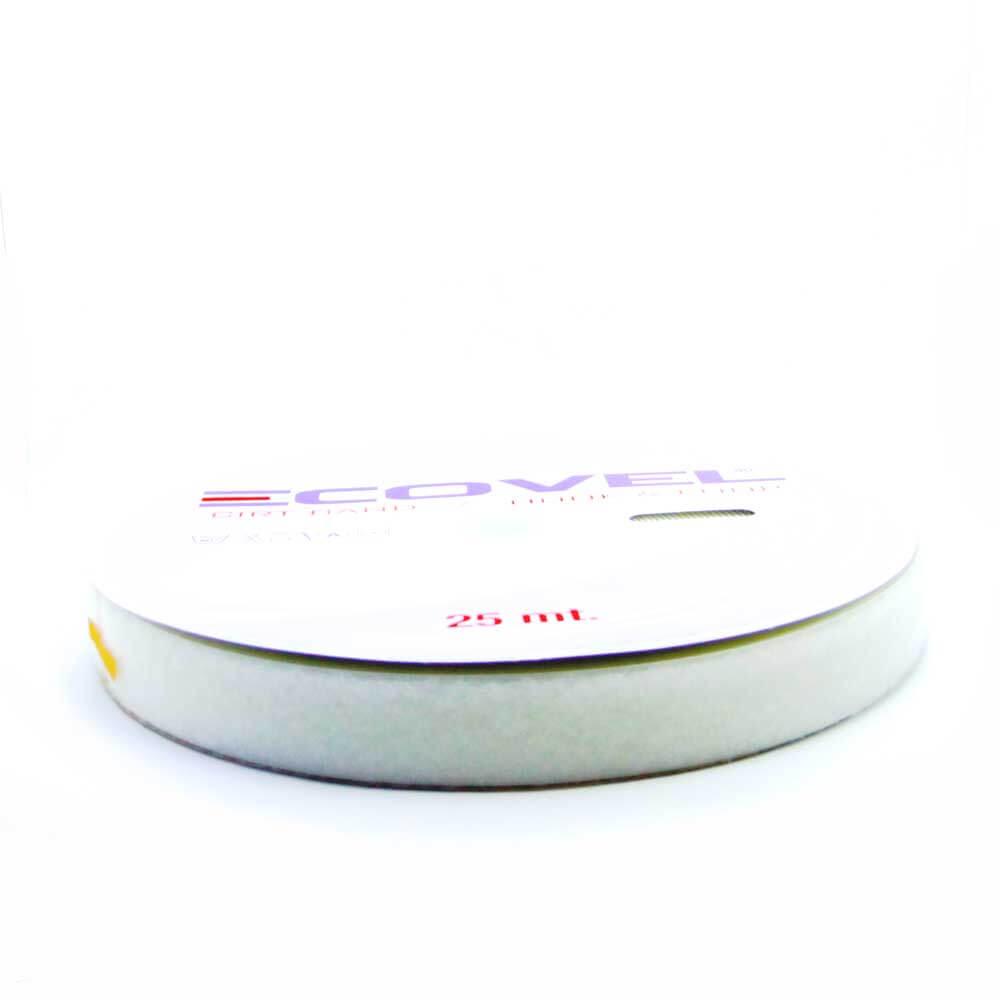 Ecovel Beyaz Cırt Bant, Yumuşak/İlmek (5cmx25mt) ''