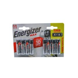 Energizer Max AA Alcaline Pil - 4+4 ''