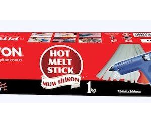 Piton Büyük Sıcak Silikon, Mum silikon 12mm (Kg) ''