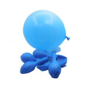 Baskısız Balon Mavi -100'lü *