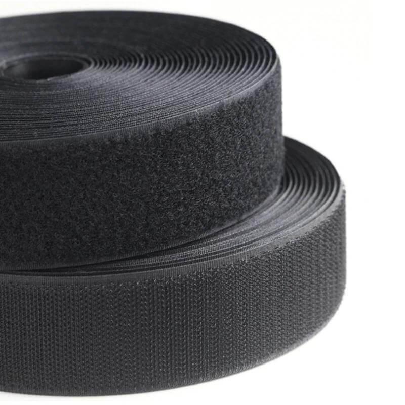 Ecovel Siyah Cırt Bant, Sert/Kanca (5cmx25mt) ''