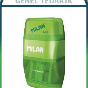 Milan 430 Compact Kalemtraş + Silgi (Adet) ~