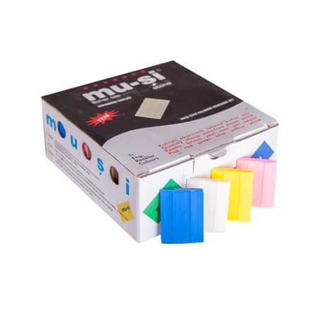 Mu-şi Mavi Uçan Çizgi Taşları 100 Adet/Kutu ''