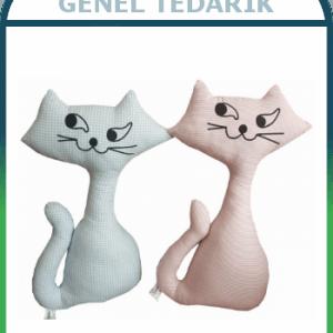 M&Y Toys MY-310 Kedi Yastık ( 40x20cm) ~