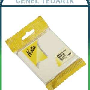 Notix Kendinden Yapışkanlı Not Kağıtları - 100 Yaprak (75mm x 75mm) ~