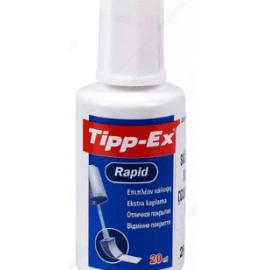 Tipp-Ex, Süngerli Sıvı Silici - 20 ml ''