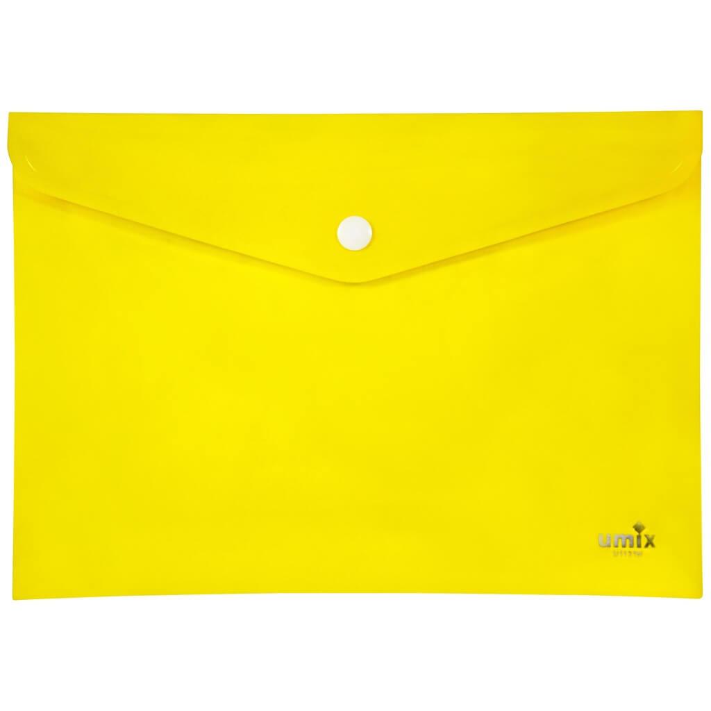 Umix A4 Çıtçıtlı Zarf Dosya - Sarı (U1121N-SA) ''