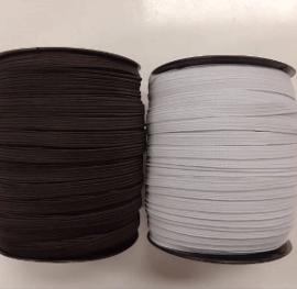 Tres Lastik Siyah Beyaz 1cm (100 Metre) ''