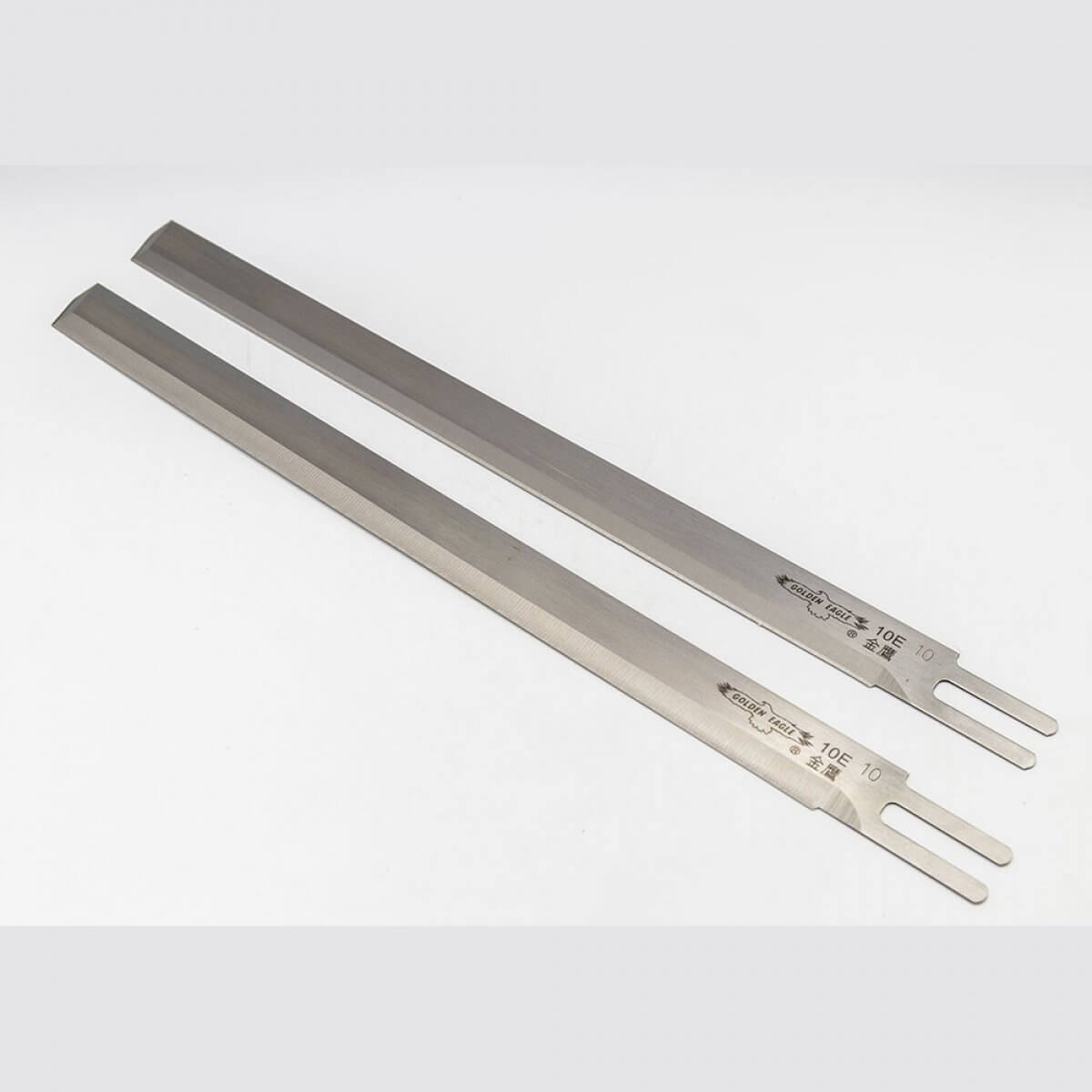 Golden Eagle Dik Kumaş Kesim Motoru Bıçağı Düz  (kutu: 12'li) - 10''E ''