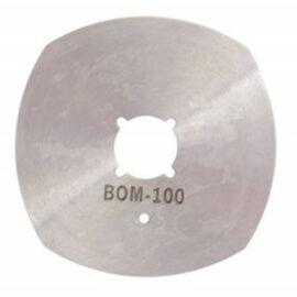 Yuvarlak Kesim Motoru Bıçağı 4 Köşeli - BOM100 ''